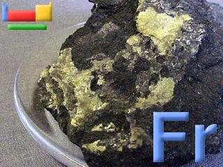 Francium for Ptable electron